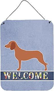 Bavarian Mountian Hound Welcome Wall or Door Hanging Prints