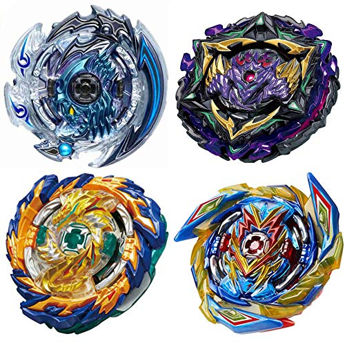 4 Pack Battle Burst Gyros Toys Set High Performance Battling Top, Birthday Party Gifts Idea Toys for Boys Kids Children Age 8+