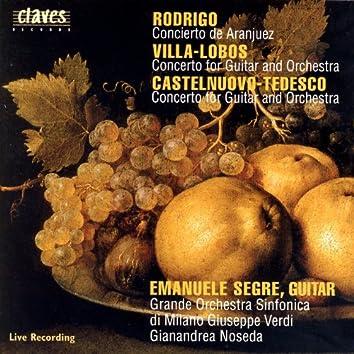 Concertos for Guitar & Orchestra (Live Recordings, Milano 1994)