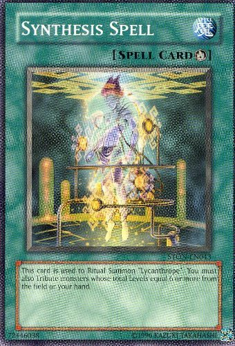 Yu-Gi-Oh! - Synthesis Spell (STON-EN043) - Strike of Neos - Unlimited Edition - Common