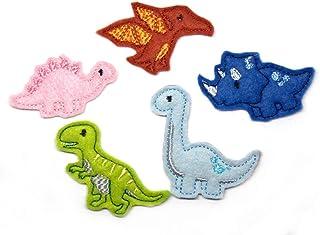 1 Dino Haarspange Dinosaurier - freie Farbwahl