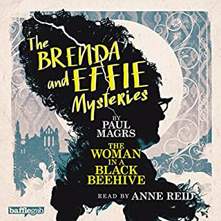 The Brenda and Effie Mysteries audiobook cover art