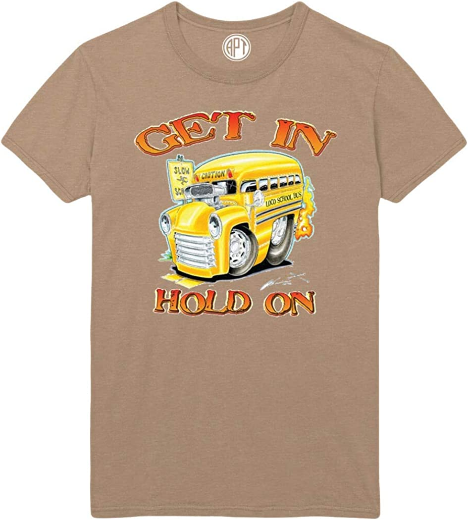 Get in Hold On Printed T-Shirt - Sand - 2XLT