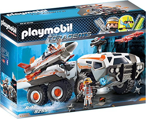 PLAYMOBIL Agentes Secretos-9255 Camión Spy Team, Multicolor, Sin tañosllaños (9255)