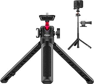 【令和新版】ULANZI MT-16 三脚 自撮り棒 ミニ三脚 カメラ三脚 4段伸縮 コールドシュー付き 軽量 持ち運びに便利 雲台などに対応 iphone/Gopro9 8 7 6/Osmo Pocket1 2 ZV-1 RX100 M1-M...