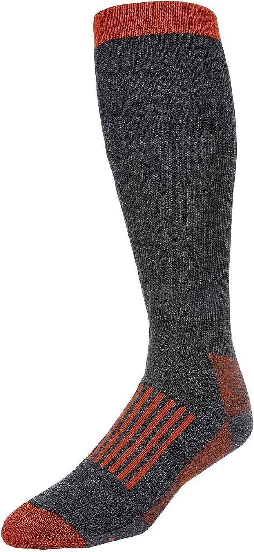 Simms Fishing Products Men's Merino Thermal OTC Sock, Carbon