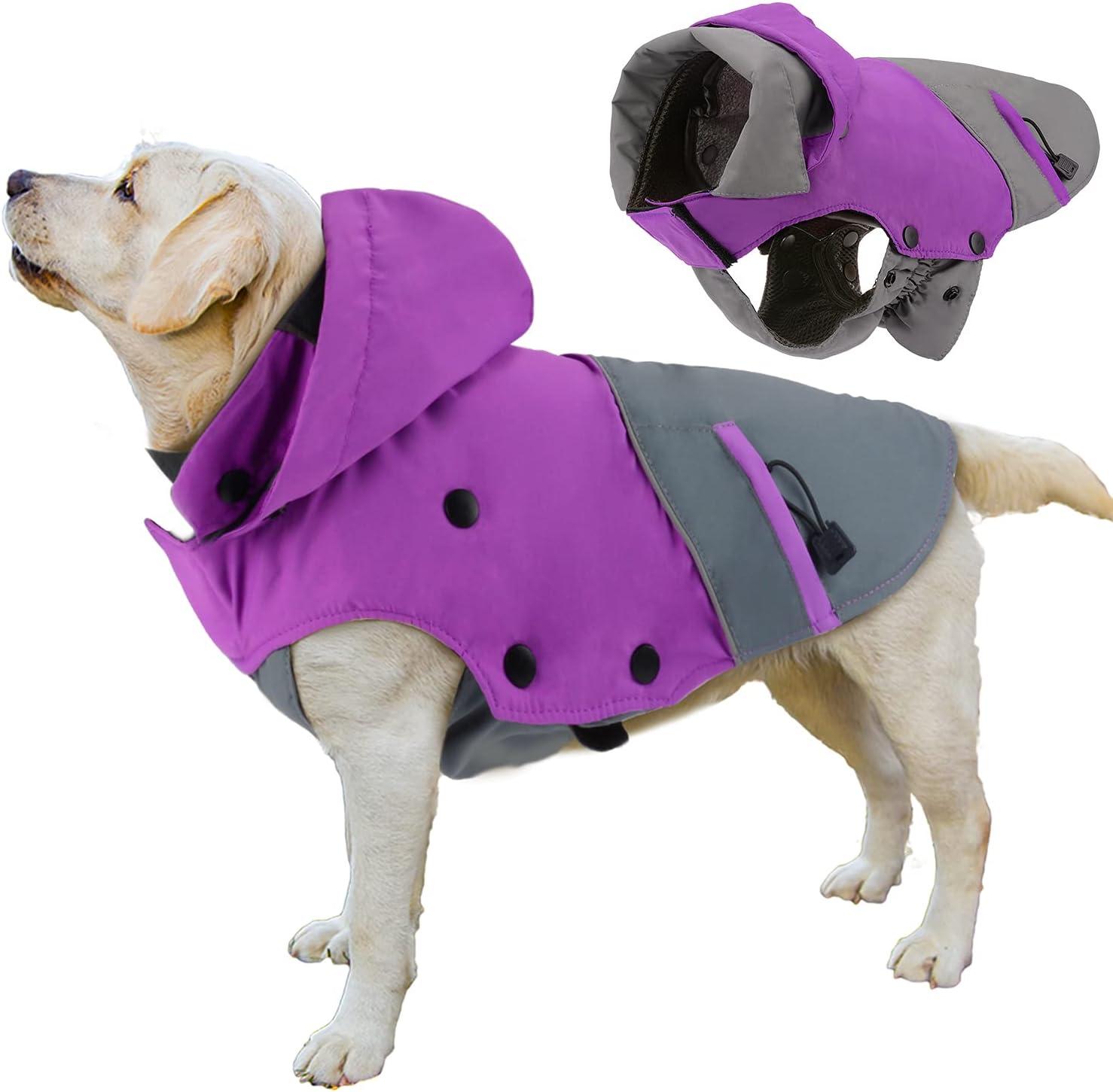 PETLOFT Dog Winter Jacket Reflective Waterproof Max 60% OFF Coat Max 79% OFF