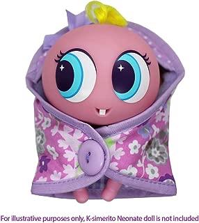 Distroller Ksimerito Purple Blanket Hood - Chamoy Friends Collection Ksimerito Accesories - Nerlie Neonate Baby Doll …