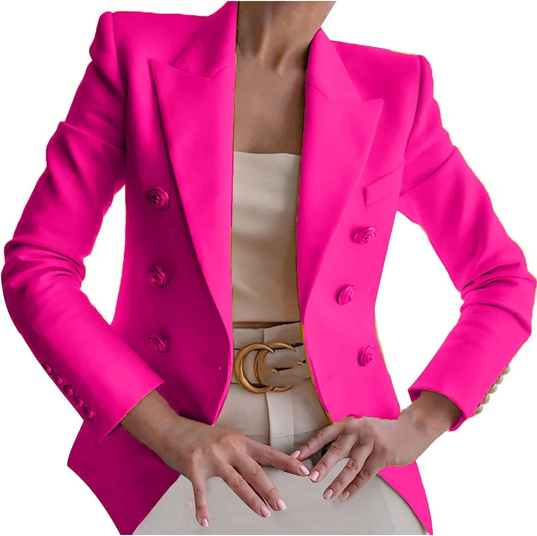 Cardigan Sweaters Women Buttons Long Sleeve Solid Office Coat Cardigans Suit Jacket Long Outwear