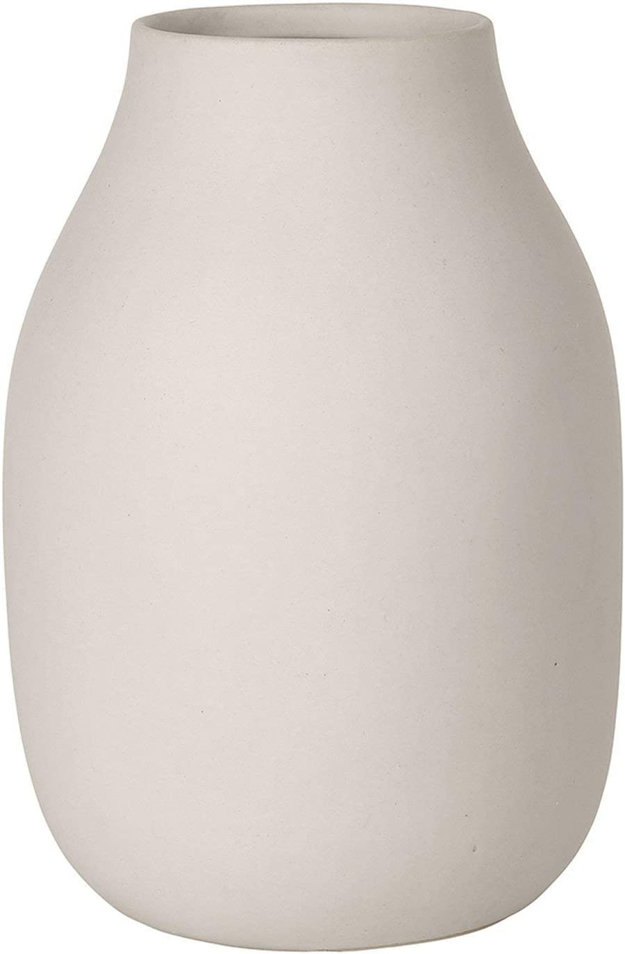 blomus COLORA Free shipping on posting reviews Vase Porcelain 20 Moonbeam Beige x cm Denver Mall 14