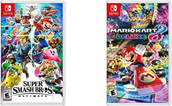 Super Smash Bros. Ultimate Bundle with Mario Kart 8 Deluxe - Nintendo Switch