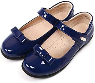 tomik Leather Shoes Girls Princess Genuine Leather Inner Single Shoes Children Party Shoes Kids Flats