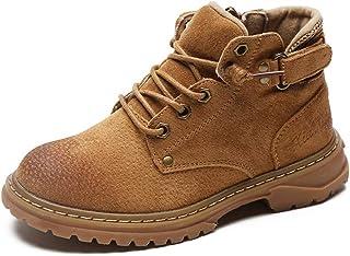 SF Children's Shoes Boys Cotton Shoes Autumn and Winter Plus Velvet Thick Warm Cotton Boots Girls Shoes Children's Two Cot...