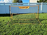 CLAAN Soccer Trainer Portable Soccer Rebounder Net for Passing, and Solo Training| Comes with Carrying Bag for Easy Transportation| Size 6'x3'x3' Perfect for backyards.