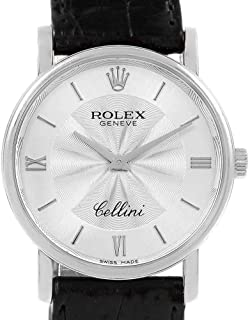 cbfea329f48 Rolex Cellini Mechanical-Hand-Wind Male Watch 5115 (Certified Pre-Owned)