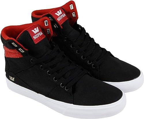 Supra Men's Aluminum zapatos,8.5,negro Bossa Nova - blanco