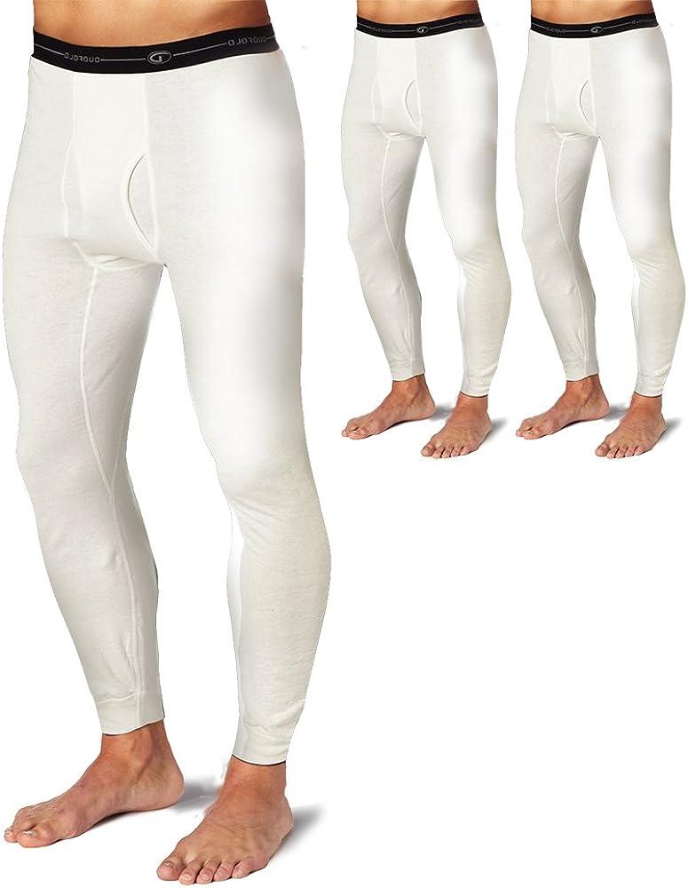 Duofold KMW2 Men's Thermal Base-Layer Underwear Winter White 3 Pack