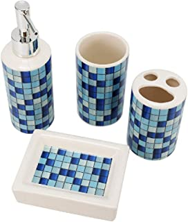 Best blue bathroom accessories set Reviews