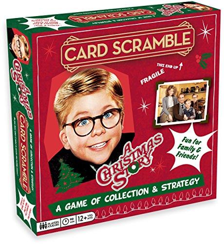 A Christmas Story Card Scramble