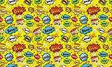 Autoadhesivo - Comic Pop Art PAT084 Papel Tapiz Adhesivo de PVC para Muebles