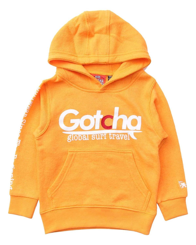 [ガッチャ] GOTCHA キッズ パーカー プルオーバー ガーゼ 裏毛 プルパーカー 191G3320