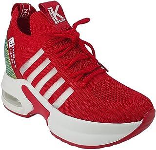 Guja 300 Günlük Bayan Sneaker Ayakkabı-Kırmızı