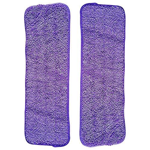 Fransande - 2 fregonas de microfibra para escoba lavadora, lavable, 42 x 38 x 14,5 cm, toallitas de limpieza para suelo (2 en total)