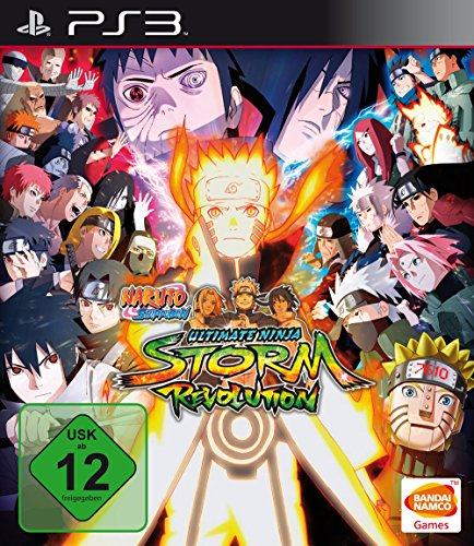 Namco Bandai Games Naruto Shippuden: Ultimate Ninja Storm Revolution PS3 - Juego (PlayStation 3, Acción / Lucha, CyberConnect 2, 12/09/2014, Básico, BANDAI NAMCO Games)