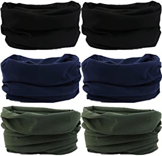Headwear,Head Wrap, Neck Gaiter, Headband, Fishing Mask, Magic Scarf, Tube Mask, Face Bandana Mask, Neck Balaclava and Spo...