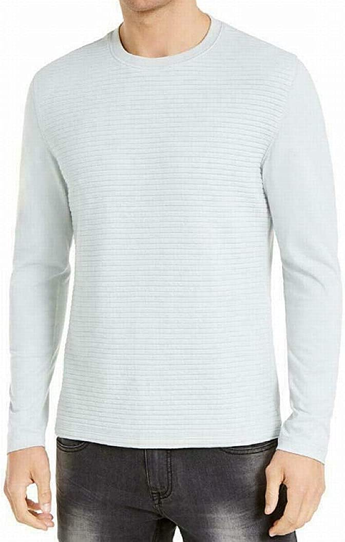 INC Mens Gray Long Sleeve Crew Neck Classic Fit Pullover XS