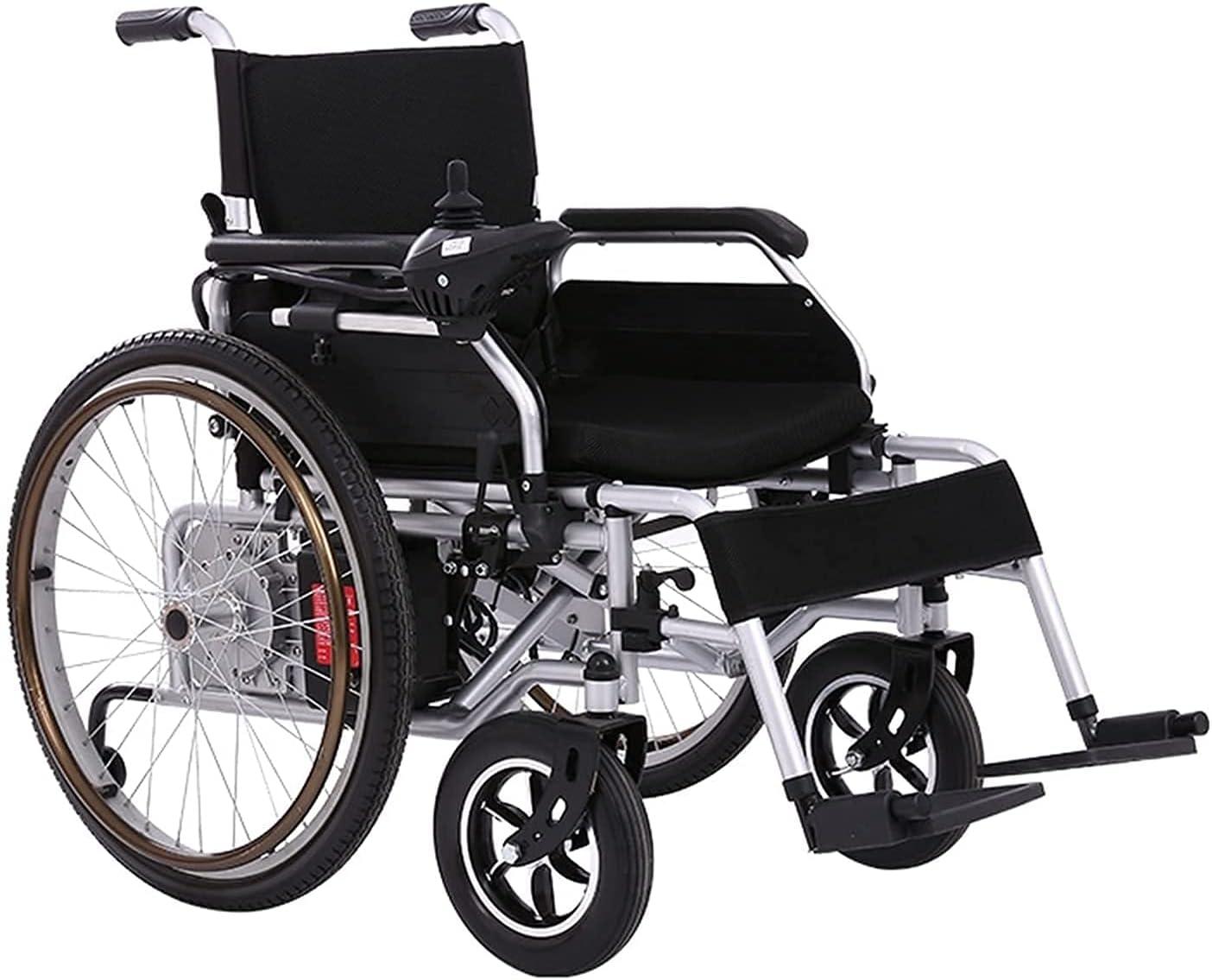 Electric Ranking TOP9 Wheelchair Easily Foldable Elec Flashlight Dual-Purpose Superior