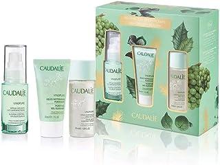 Caudalie - 'Vinopure Natural Anti-Blemish' Skincare Gift Set-Vinopure blemish control Infusion Serum 30ml, Vinopure purify...