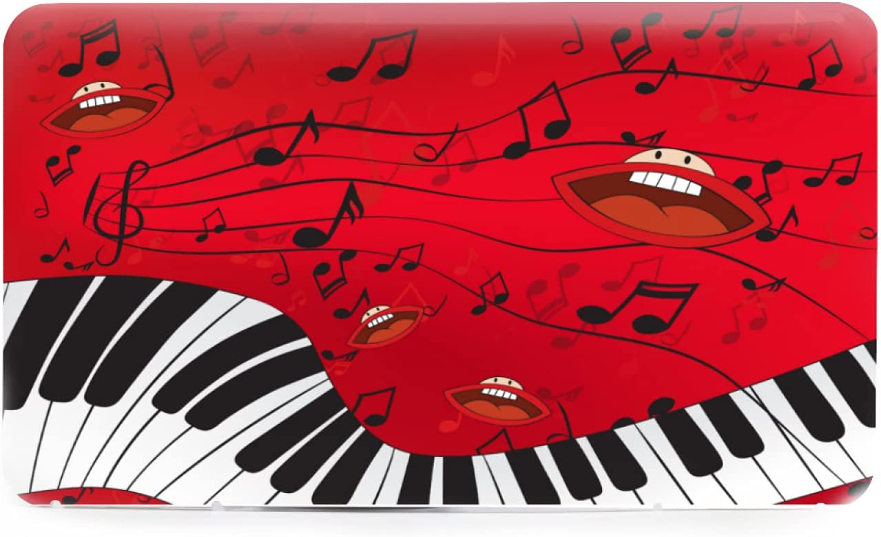Plastic Storage Box Vintage Red Brand new Abstract and Music A Online limited product Notes Piano