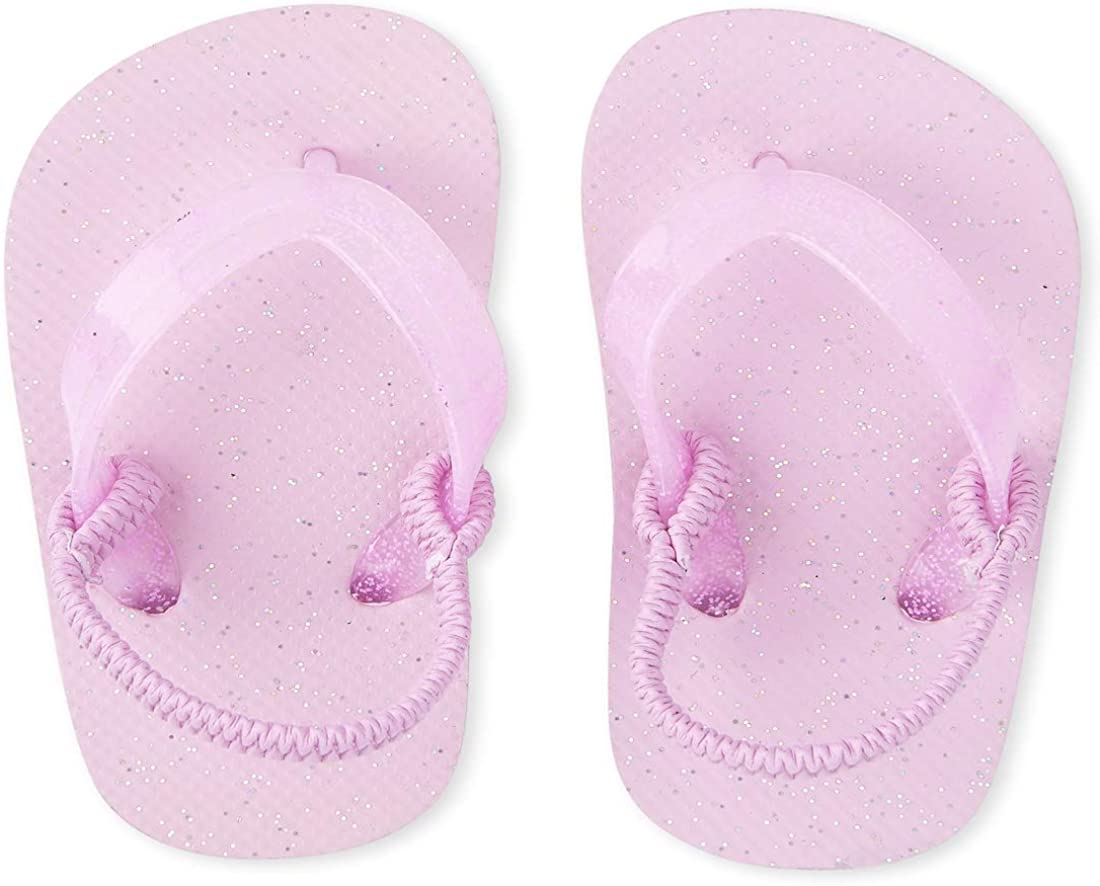 The Children's Place Unisex-Child Glitter Flip Flops Slipper