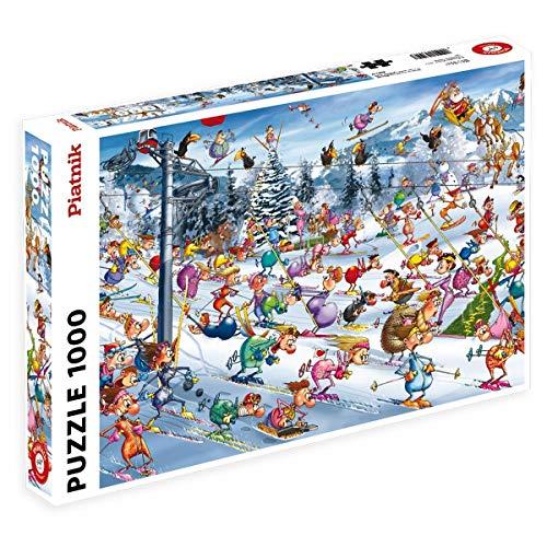 Piatnik 00 5351 Ruyer Skiing Puzzle