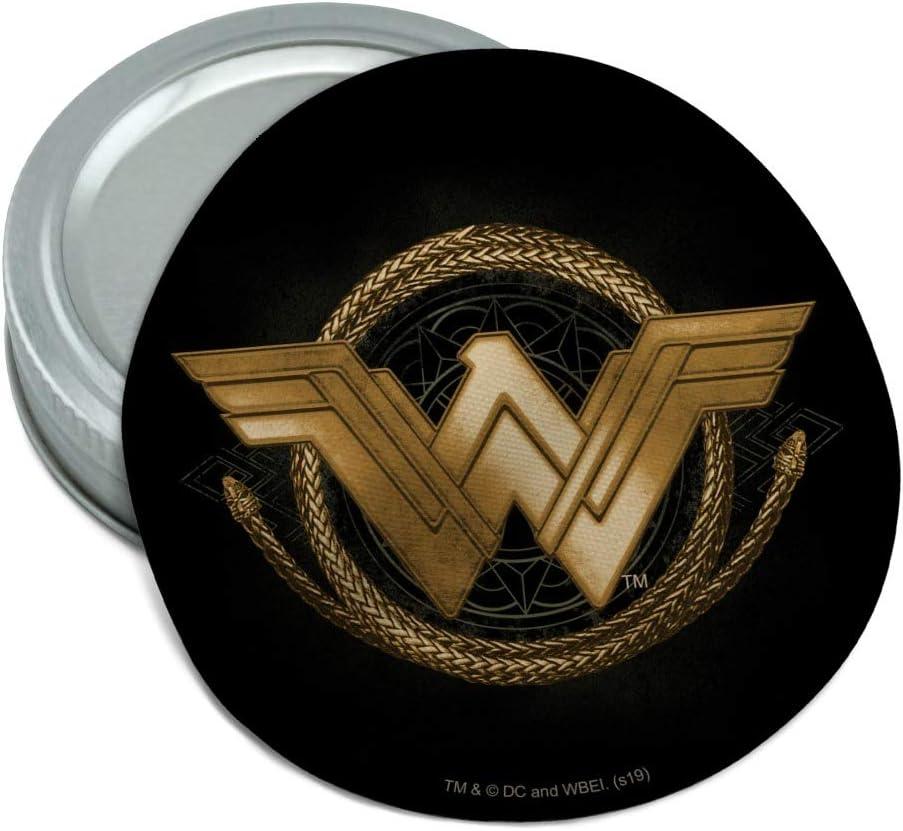 Wonder Woman Gorgeous Movie Golden Lasso Logo Round Non-Slip Jar Rubber G Opening large release sale