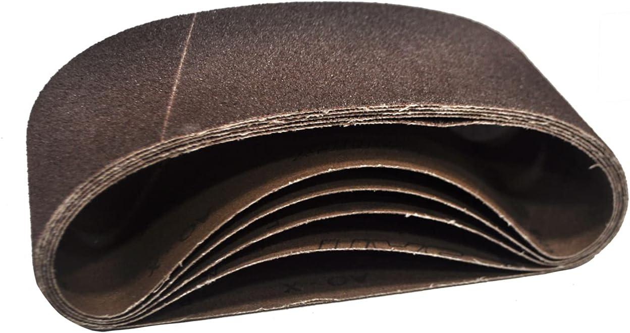United Abrasives SAIT 58182 4x21 Blue Cheap sale 100% quality warranty! Aluminum Oxide AO-X P Line