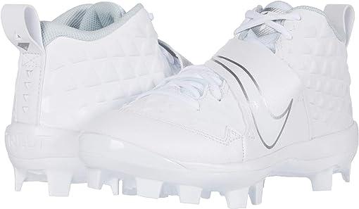 White/White/Pure Platinum