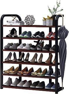 JJZXT Porte-Chaussures Rack étagères Multi-Couche de Stockage étanche, Chaussures Debout Accueil Organisateur for Living R...