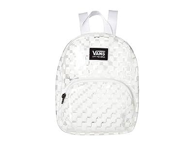 Vans Gettin It Mini Backpack (White/Checkerboard) Backpack Bags