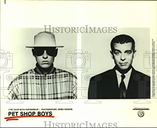 Historic Images - 1992 Press Photo Members of The Music Group Pet Shop Boys