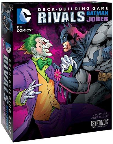 Cryptozoic CZE01752 - DC Comics Deck, Building Game Rivals Batman vs The Joker Kartenspiel, Englisch