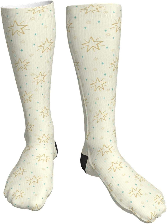 Bargain sale Colorful Detroit Mall Cute Christmas Animals Unisex Casual Long So Crew Socks