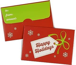 "Guardian Gift Card Envelopes, 2-1/2"" x 3-5/8"", 100/Box (Happy Holidays)"