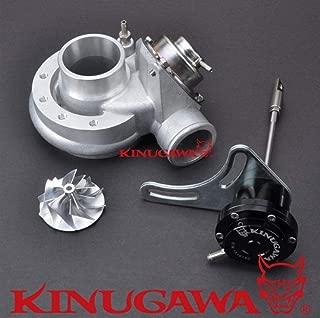 Kinugawa Turbo Compressor Kit Fit Mitsubishi TD04 TD04H TD04HL 20T with BOV Cover & Forged WG & Billet Wheel