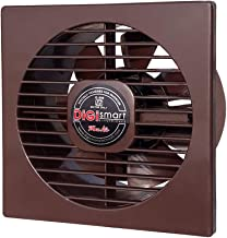 DIGISMART 6 Inches High Speed 1600 RPM (150 mm) 100% Pure Copper Motor Axial Fan (Brown)