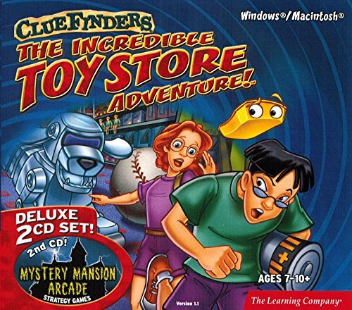 The Learning Company - ClueFinders The Incredible Toy Store Adventure Deluxe (2 CD-ROM Set)