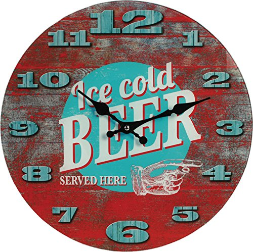 "Wanduhr ""Ice Cold Beer"" WANDUHR ICE COLD BEER79/3085"