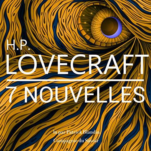 Couverture de 7 nouvelles de Lovecraft