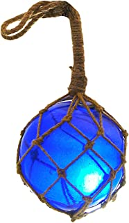 Nautical Specials MR 4800B-VC Nautical Collection Japanese Glass Floats Assorted Colors Family Fish Net Buoys Large Set (6